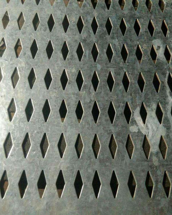 不锈钢菱形孔板